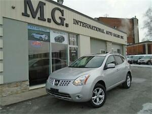 2010 Nissan Rogue SL AWD w/Leather/Roof/Bluetooth