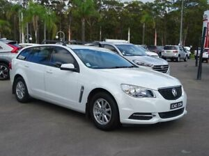 2017 Holden Commodore VF II MY17 Evoke White 6 Speed Automatic Sportswagon South Nowra Nowra-Bomaderry Preview