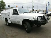 2010 Nissan Patrol GU 6 MY10 DX White 5 Speed Manual Cab Chassis Coopers Plains Brisbane South West Preview