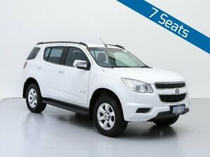 2012 Holden Colorado 7 RG LTZ (4x4) White 6 Speed Automatic Wagon