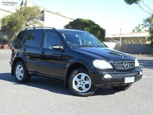 2004 Mercedes-Benz ML W163 350 (4x4) Black 5 Speed Auto Tipshift Wagon Maidstone Maribyrnong Area Preview
