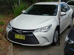 2015 Toyota Camry ASV50R MY15 Altise White 6 Speed Automatic Sedan