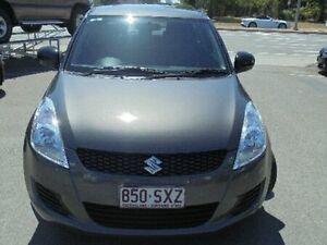 2013 Suzuki Swift FZ GL Grey 5 Speed Manual Hatchback