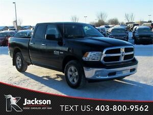 2015 Ram 1500 Quad Cab w/Front Bench & Bluetooth