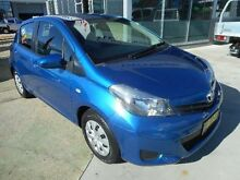 2012 Toyota Yaris NCP130R YR Blue 4 Speed Automatic Hatchback Belconnen Belconnen Area Preview