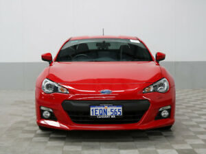 2014 Subaru BRZ MY14 Red 6 Speed Automatic Coupe