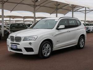 2011 BMW X3 F25 xDrive 30D White 8 Speed Automatic Wagon