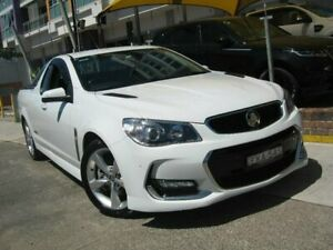 2016 Holden Ute VF II SS White 6 Speed Automatic Utility Homebush Strathfield Area Preview