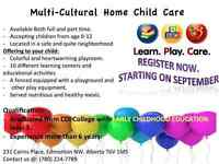 Multicultural Home Daycare