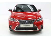 Lexus CT 200H F SPORT (red) 2017-02-28