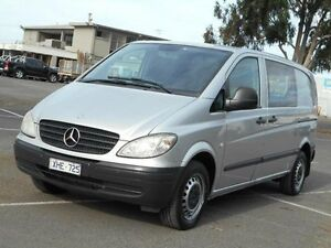 2009 Mercedes-Benz Vito MY09 111CDI Compact Silver 5 Speed Automatic Van Maidstone Maribyrnong Area Preview