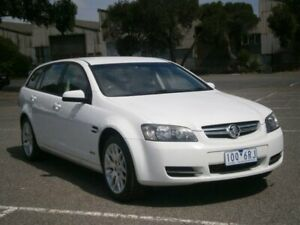 2010 Holden Commodore VE MY10 International White 6 Speed Automatic Sportswagon