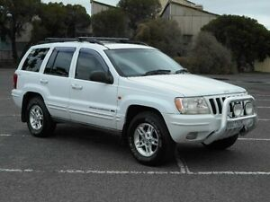 2000 Jeep Grand Cherokee WJ Limited (4x4) White 4 Speed Automatic 4x4 Wagon Maidstone Maribyrnong Area Preview