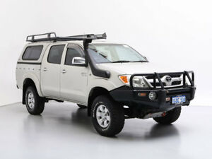 2006 Toyota Hilux GGN25R SR5 (4x4) Silver 5 Speed Manual Dual Cab Pick-up
