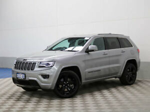 2015 Jeep Grand Cherokee WK MY15 Blackhawk Silver 8 Speed Automatic Wagon