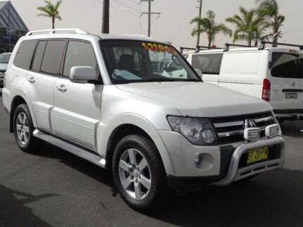 2007 Mitsubishi Pajero NS VR-X LE White 5 Speed Manual Wagon South Nowra Nowra-Bomaderry Preview