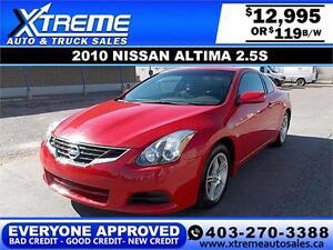 2010 Nissan Altima 2.5 S $119 BI-WEEKLY APPLY NOW DRIVE NOW