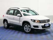 2014 Volkswagen Tiguan 5NC MY14 118 TSI (4x2) White 6 Speed Direct Shift Wagon Jandakot Cockburn Area Preview
