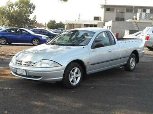 1999 Ford Falcon AU XL Silver 4 Speed Automatic Utility Maidstone Maribyrnong Area Preview