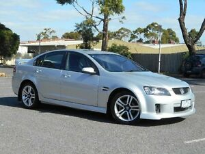 2010 Holden Commodore VE MY10 SV6 Silver 6 Speed Automatic Sedan Maidstone Maribyrnong Area Preview