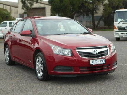 2009 Holden Cruze JG CD Red 6 Speed Automatic Sedan