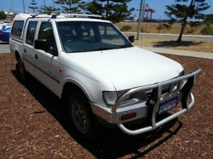 1999 Holden Rodeo TFR9 LT (4x4) White 5 Speed Manual Crew Cab Pickup