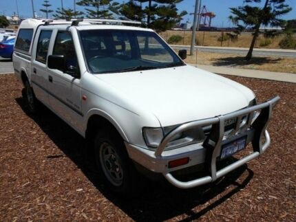 1999 Holden Rodeo TFR9 LT (4x4) White 5 Speed Manual Crew Cab Pickup Fremantle Fremantle Area Preview