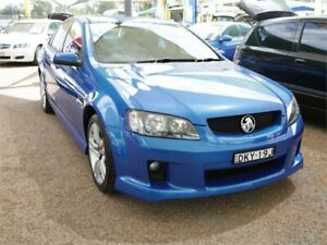 2008 Holden Commodore VE SV6 Blue 5 Speed Sports Automatic Sedan Mount Druitt Blacktown Area Preview