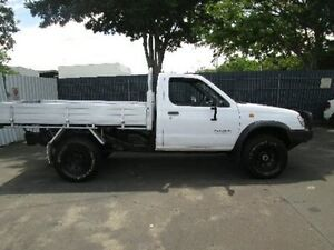 1998 Nissan Navara D22 DX White 5 Speed Manual Cab Chassis Coopers Plains Brisbane South West Preview