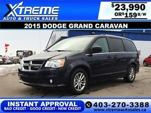 2015 Dodge Grand Caravan $159 bi-weekly APPLY NOW DRIVE NOW