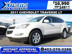 2011 Chevrolet Traverse LT $149 BI-WEEKLY APPLY NOW DRIVE NOW