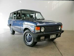 1993 Land Rover Range Rover Vogue LSE Plymouth Blue 4 Speed Automatic Wagon Petersham Marrickville Area Preview