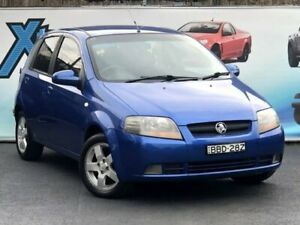 2007 Holden Barina TK MY07 Blue Automatic Hatchback Campbelltown Campbelltown Area Preview