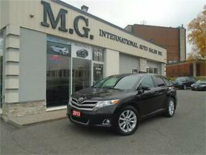2013 Toyota Venza w/Leather/Rear Camera/Pano Roof