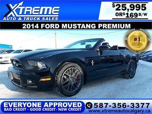 2014 Ford Mustang Premium $169 BI-WEEKLY APPLY NOW DRIVE NOW
