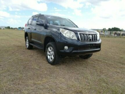 2009 Toyota Landcruiser Prado KDJ150R GXL Black 6 Speed Manual Wagon Archerfield Brisbane South West Preview
