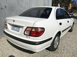 2000 Nissan Pulsar N16 LX White 4 Speed Automatic Sedan Seaford Frankston Area Preview