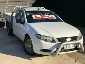 2009 Ford Falcon FG (LPG) White 4 Speed Auto Seq Sportshift Utility Werribee Wyndham Area Preview