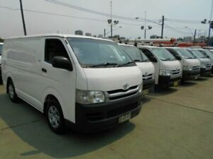 2010 Toyota HiAce KDH201R MY07 Upgrade LWB White 5 Speed Manual Van Five Dock Canada Bay Area Preview