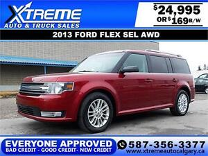 2013 Ford Flex SEL AWD $169 bi-weekly APPLY NOW DRIVE NOW