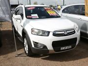 2012 Holden Captiva CG Series II MY12 7 AWD LX White 6 Speed Sports Automatic Wagon Minchinbury Blacktown Area Preview