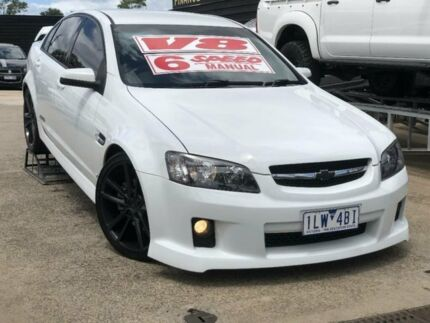 2006 Holden Commodore VE SS White 6 Speed Manual Sedan Werribee Wyndham Area Preview