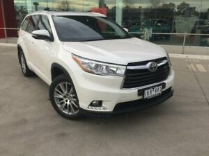2014 Toyota Kluger GSU55R Grande (4x4) Crystal Pearl 6 Speed Automatic Wagon Kilmore Mitchell Area Preview