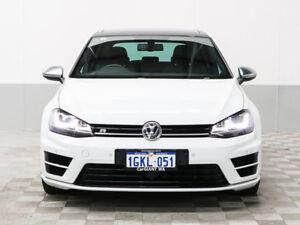 2016 Volkswagen Golf AU MY16 R White 6 Speed Direct Shift Hatchback