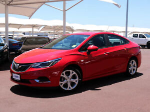 2017 Holden Astra BL MY17 LT Absolute Red 6 Speed Automatic Sedan