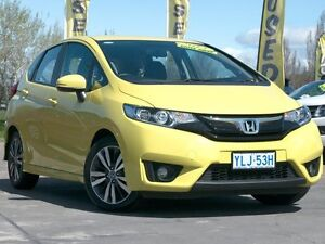 2015 Honda Jazz GF MY15 VTi-L Yellow 1 Speed Constant Variable Hatchback Pearce Woden Valley Preview