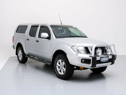 2012 Nissan Navara D40 MY12 ST (4x4) Silver 5 Speed Automatic Dual Cab Pick-up Jandakot Cockburn Area Preview