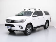 2017 Toyota Hilux GUN126R MY17 SR5 (4x4) White 6 Speed Automatic Dual Cab Utility Jandakot Cockburn Area Preview