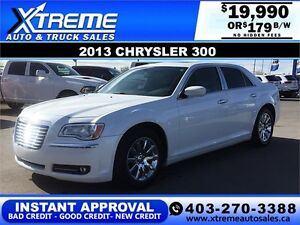 2013 Chrysler 300 Panoramic Sunroof $179 b/w APPLY NOW DRIVE NOW