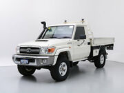 2016 Toyota Landcruiser VDJ79R MY12 Update GXL (4x4) White 5 Speed Manual Cab Chassis Jandakot Cockburn Area Preview